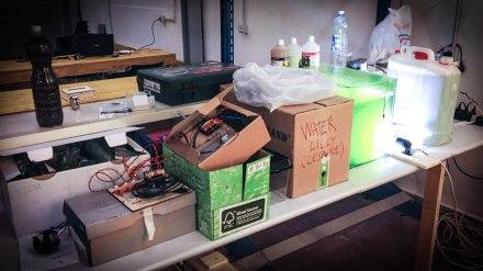 cesare griffa tinkering desk 2012